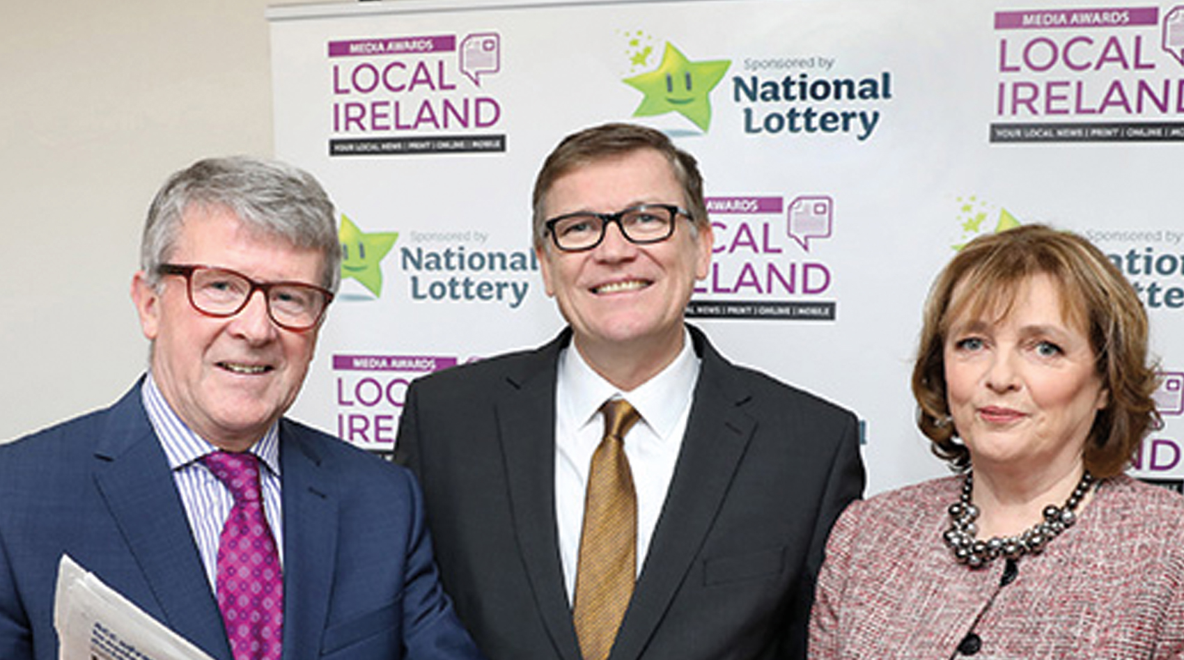 National Lottery announces sponsorship of Local Ireland Media Awards for 2019/2020
