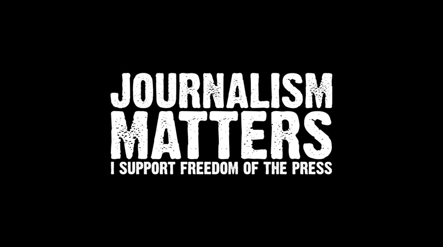 #JournalismMatters